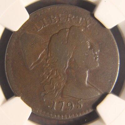1795 Capped Liberty Large Cent, S-78, Plain Edge, F-12, Choice