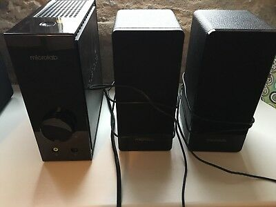 Microlab FC 360 computer speakers