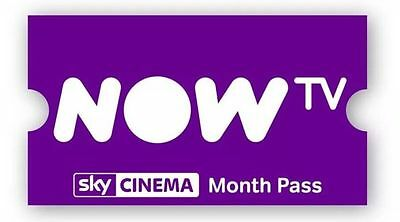 NOW T.V 1 Month Cinema Movie Pass - READ DESCRIPTION BEFORE BUYING
