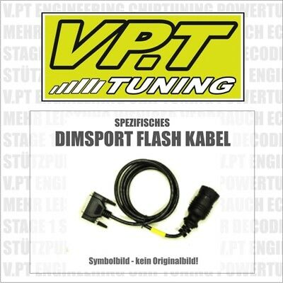 Dimsport Kabel VAG (VW Gruppe) DSG DQ500 16 Pin Diagnosekabel PKW