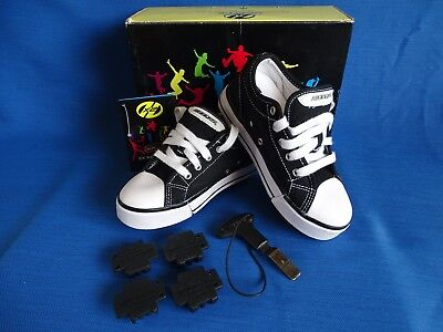 Heelys Black And White. Size U.K. 13. Condition Great.