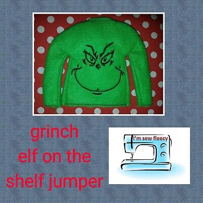 grinch elf jumper