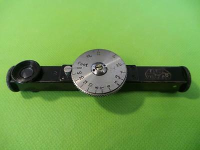 Leica/leitz Fofer Nagel Pupille Rangefinder Nickel Leica Fofer Large Dial/wheel