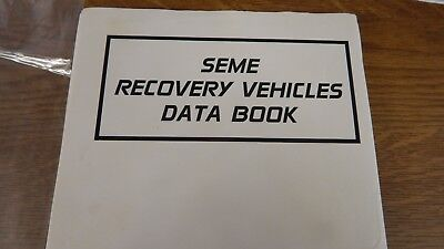 recovery vehicles data,ex REME classroom book