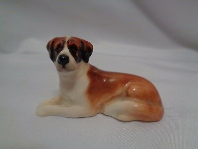 Royal Doulton St. Bernard Dog Miniature Size