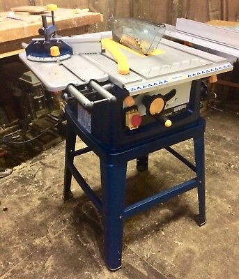 "Used Ryobi Table Saw ETS-1525SC  1500w, 240v with 254mm/10"" blade"