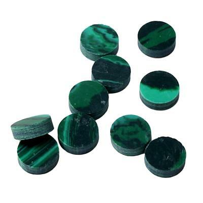 10x Inlay Malachite Dots Marker Decals Freboard for Acoustic Guitar Fret 2mm
