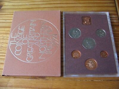 1974 Proof Set Of Decimal Coinage Of Great Britain & Northern Ireland L1