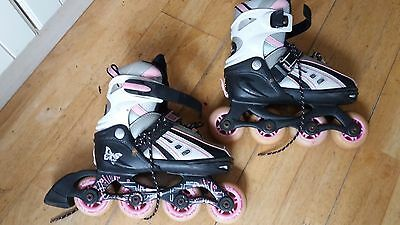 SFR Vortex Inline Roller Skates 12-2 Very Good Condition