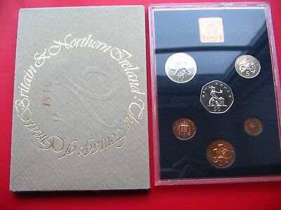 1976 Proof Set Of Decimal Coinage Of Great Britain & Northern Ireland L2