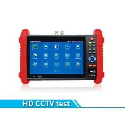 New 7 Inch Five In One CCTV Tester Monitor IP HD AHD CVI TVI Analog Cameras Test