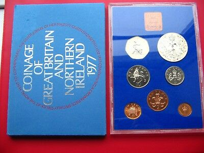 1977 Proof Set Of Decimal Coinage Of Great Britain & Northern Ireland L2