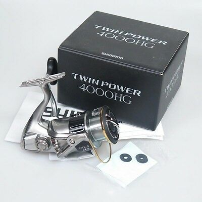 SHIMANO TWIN POWER 4000HG Spinning Reel 4000 HG & Chemical Light