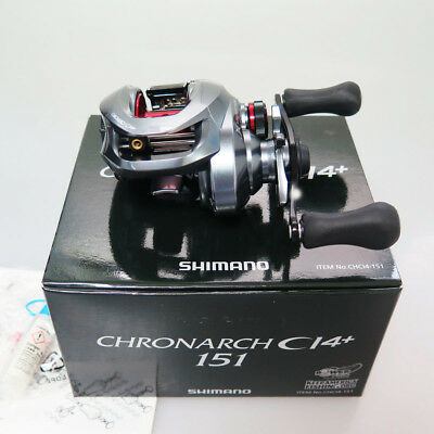 SHIMANO Chronarch CI4+ 151 Left reel Made In Japan & Chemical Light