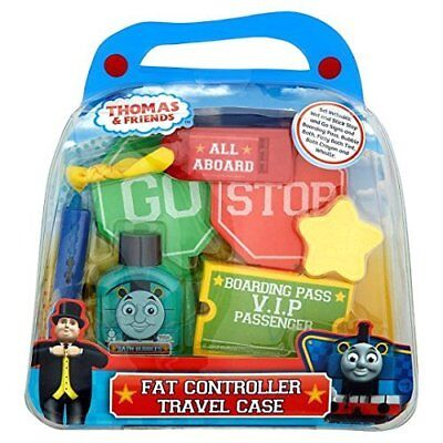 Thomas The Tank & Friends Fat Controller Travel Case Filled With Bath Toys