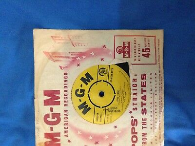"""Jimmy Jones """"good Timin' """" / """"too Long Will Be Too Late""""  7"""" Mgm-1078  1960"""