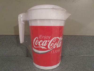Vintage PackerWare Coca-Cola COKE 64 oz. Pitcher ~ Brand New!  Factory Sealed!