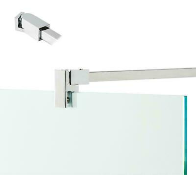 Chrome Brass Shower Screen Support Bar Arm By Bohle 8-10mm Glass
