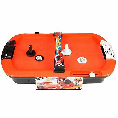 Kids Electronic Air Hockey Table Top Disney Cars Fun Family Arcade Play Game Toy