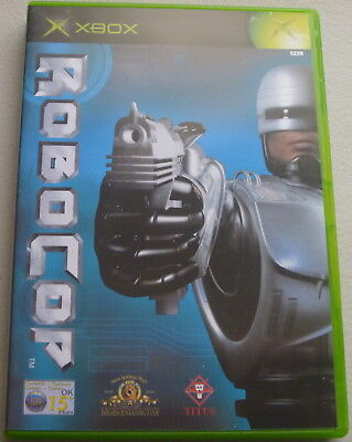 XBOX GAME: ***ROBOCOP*** Very Good Condition: Complete with Manual, PAL