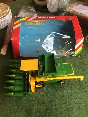 Britains 9576 Corn King Combine Harvester In Box