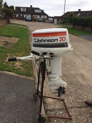 Johnson 20 hp outboard