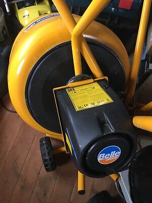 Belle Minimix 130 Electric Cement Mixer With Stand Excellent Condition 230V