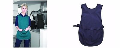 Ladies Womens Davern Quality Tabard Apron Pocket 2 Colours Polycotton Work Wear