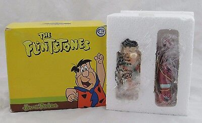 The Flintstones Fred & Dino Magnetic Salt & Pepper Shakers, Westland, New in Box