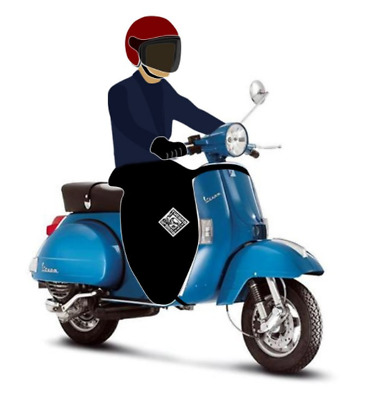 Tucano Urbano Termoscud - R013 - Leg Cover For Vespa Px/pk/hp Moped/scooter