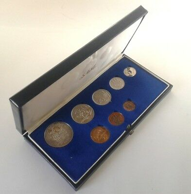 South Africa Proof Coin Set 1978 as Issued by the S A Mint in Original Box #CIM
