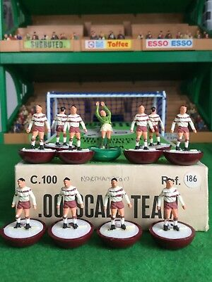 Subbuteo Heavyweight Team Ref 186 Northampton Town Very Rare