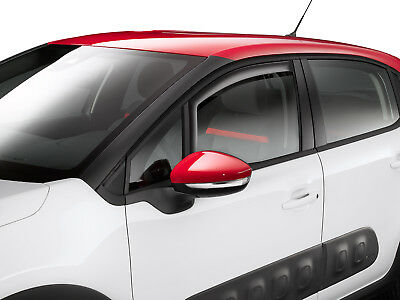 Genuine Citroen C3 Front Door Wind Deflectors - 1616886080