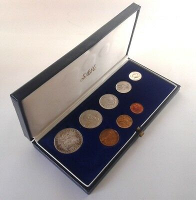 South Africa Proof Coin Set 1982 as Issued by the S A Mint in Original Box #CIM
