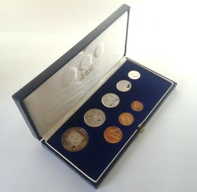 South Africa Proof Coin Set 1983 as Issued by the S A Mint in Original Box #CIM