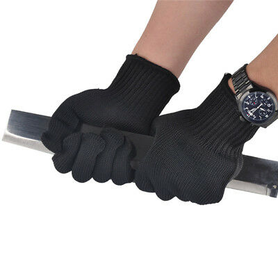 1 Pair Proof Protect Stainless Steel Wire Safety Gloves Cut Metal Mesh Butcher