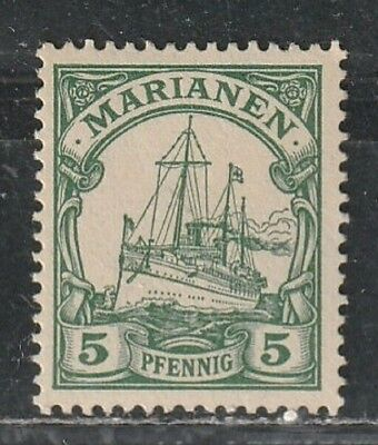 1901 German colony stamps, Mariana Islands 5pf MH SC18