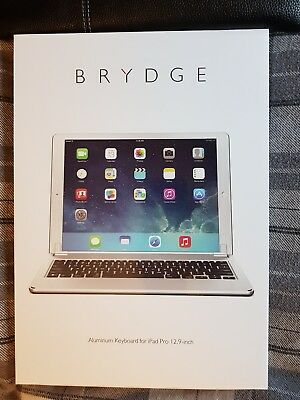 Brydge keyboard for iPad pro 12.9 inch BNIB with carry case