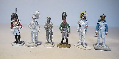 6 assorted 54mm metal figures - Rose , Metal Modeles