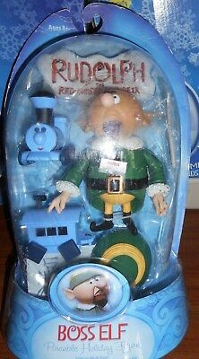 Christmas Rudolph Boss Elf Figure Unopened
