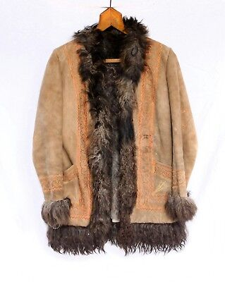 original late 1960s early 1970s  afghan coat