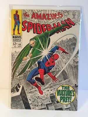 Amazing Spider-Man #64. Vg+ high grade