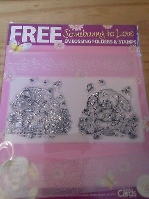 Quick Cards Made Easy Somebunny To Love Embossing Folders & Stamps