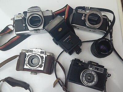 Vintage Camera/Lens Job Lot Bundle