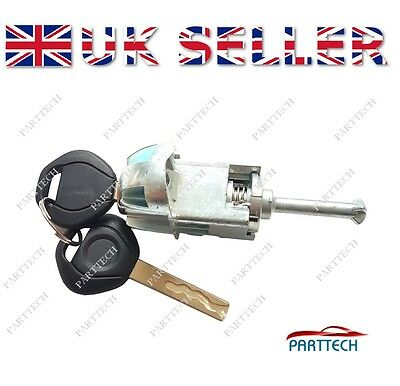 BMW E46 3 SERIES COMPLETE DOOR LOCK CYLINDER & 2 Keys Front Right Driver Side