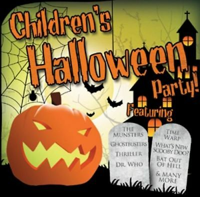 Children's Halloween Party New Cd 28 Halloween Hits Monster Mash Ghostbusters
