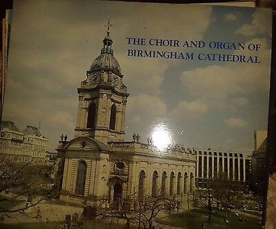 Choir and Organ of Birmingham Cathederal.LP.Signed.