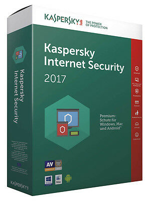 Kaspersky Internet Security 2017 / 1 PC / 1 Jahr / Vollversion