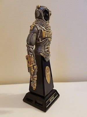Star Trek Borg Armor Of The Galaxy Franklin Mint With Gold Inlays