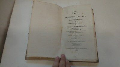 1818 Antique Medical Book, Preserving the Feet